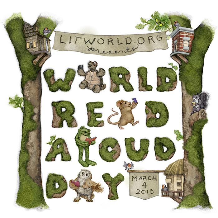 World Read Aloud Day Logo