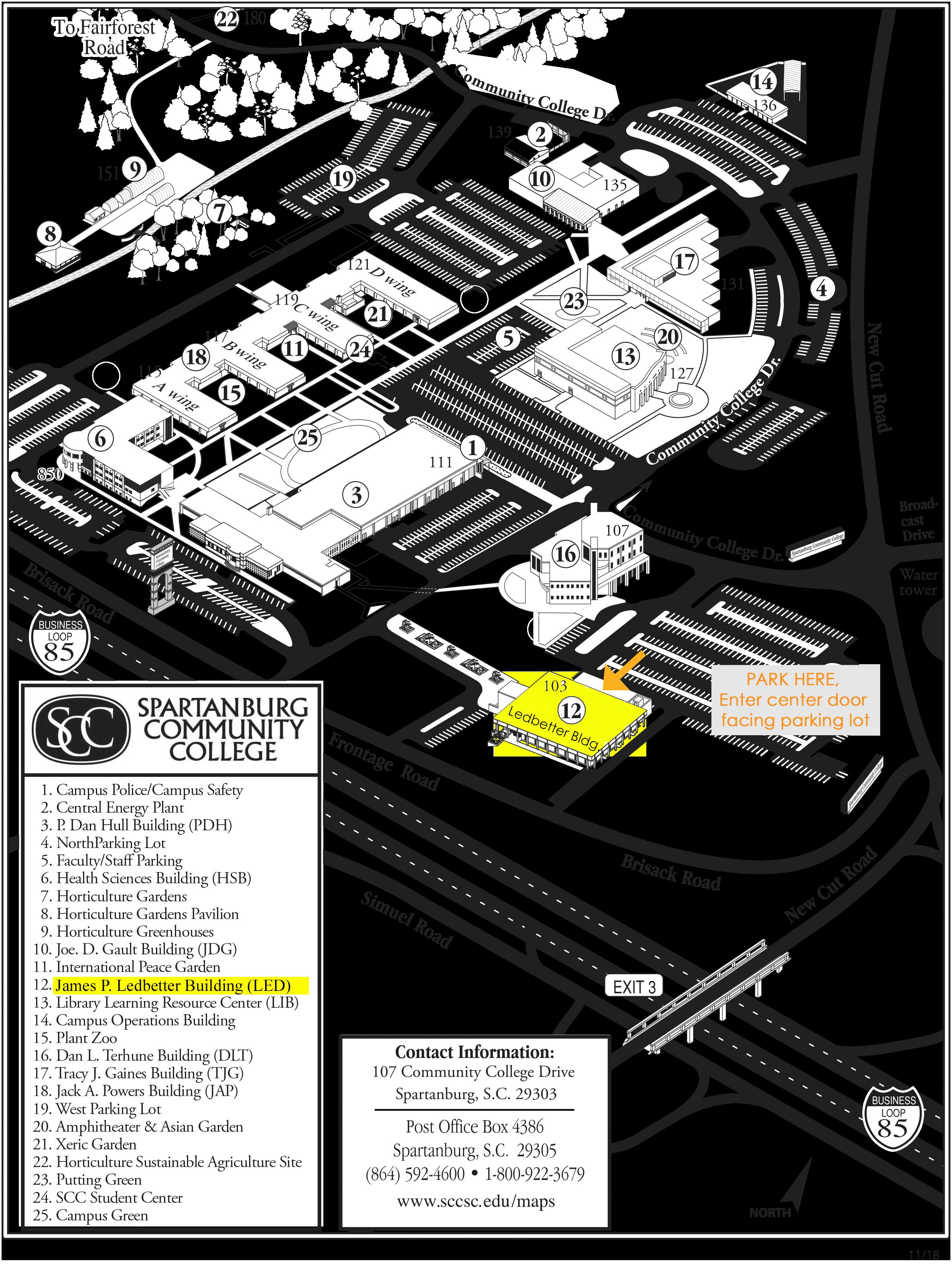 spartanburg community college campus map Six Sigma Green Belt Training Session 3 5 Spartanburg Academic