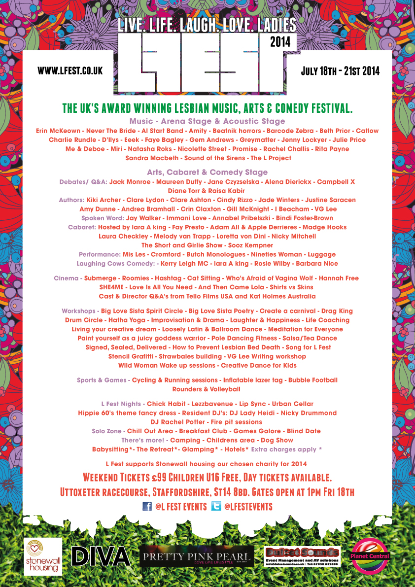 looking back at l fest l fest music arts and comedy full line up