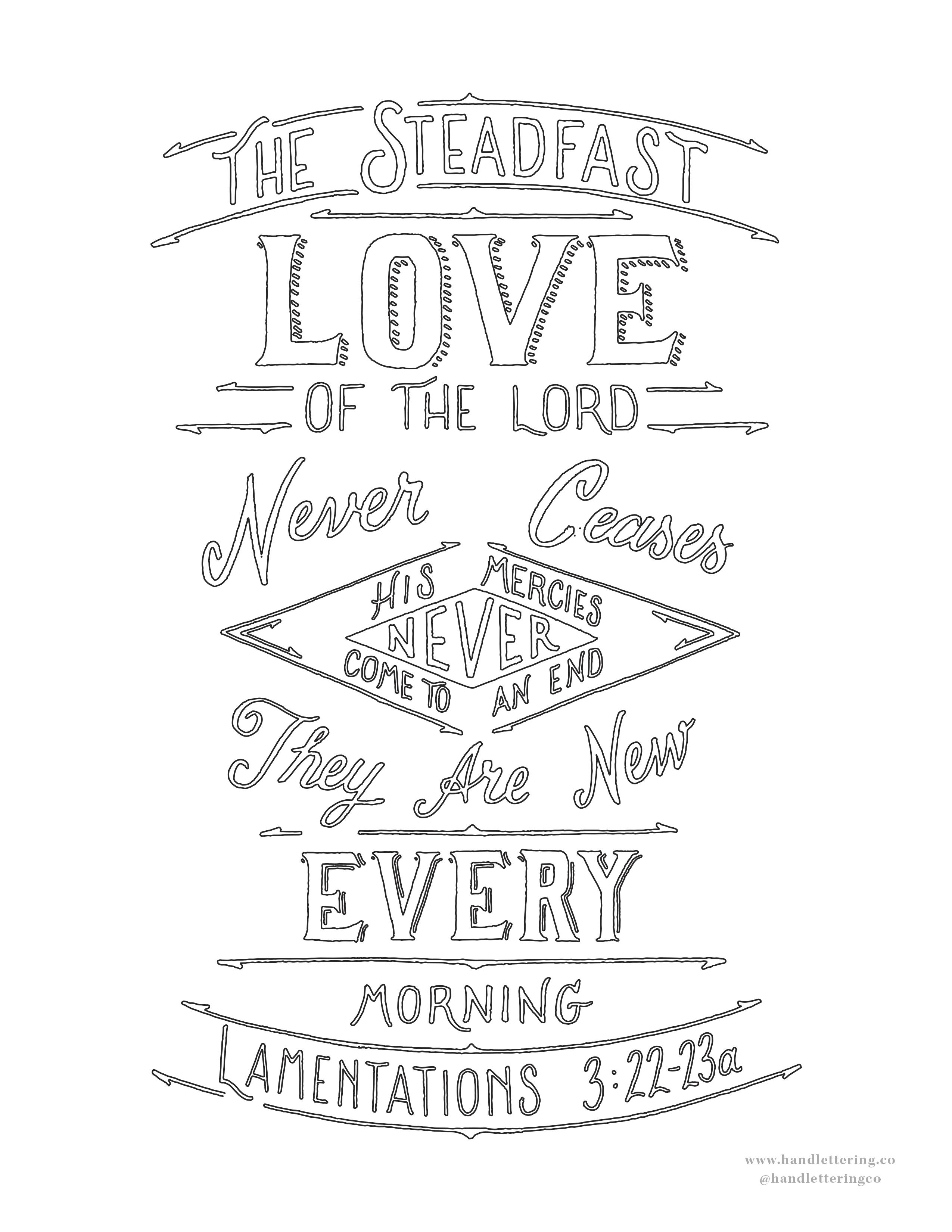 Lamentations 3:22-23a — Scripture Type