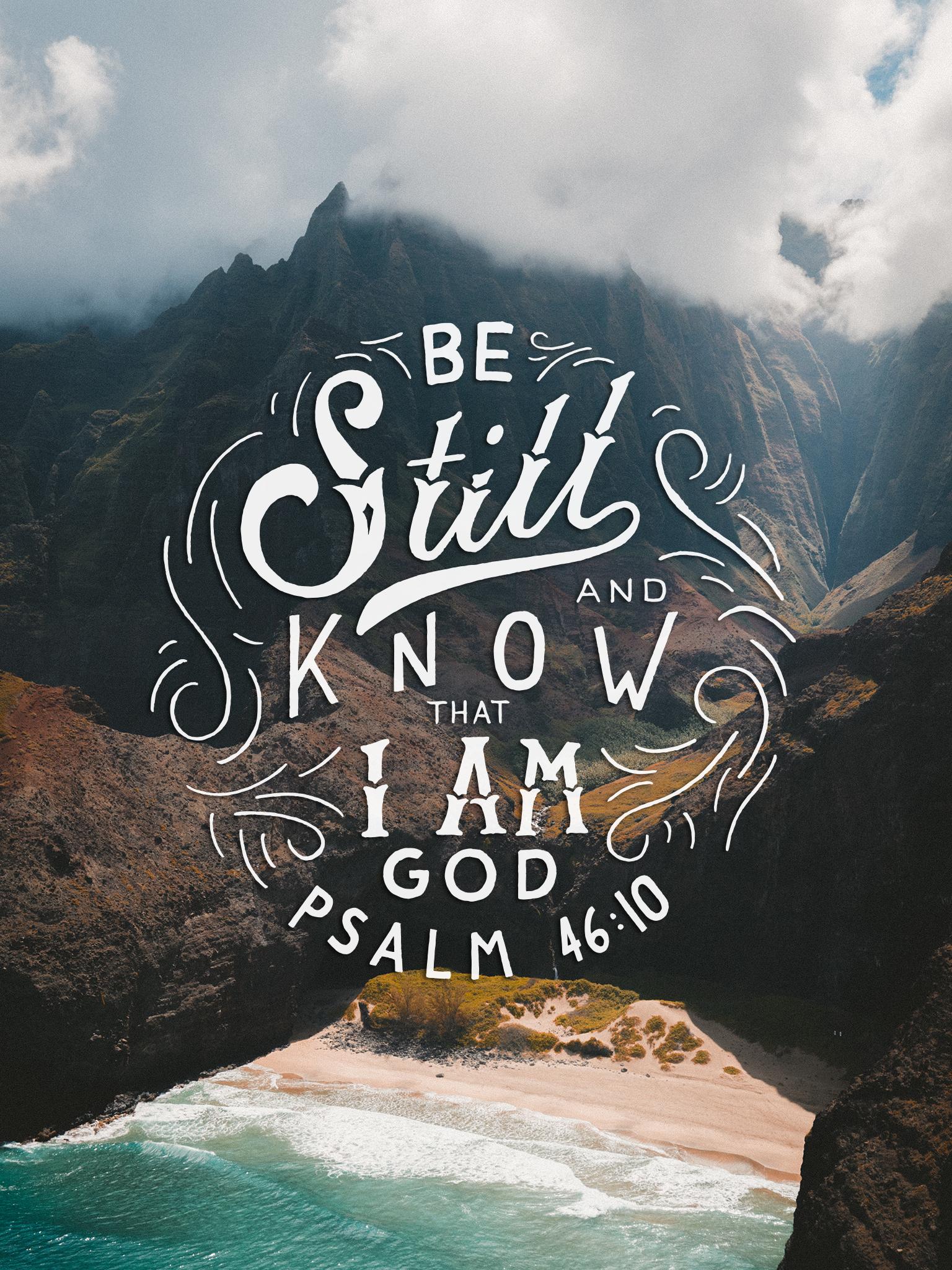 Psalm 4610 Scripture Type