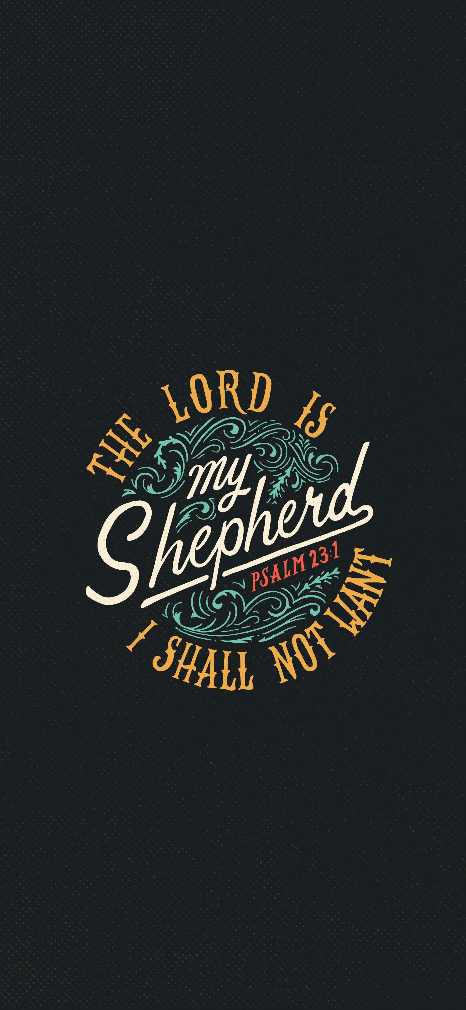 Psalm 23 1 Scripture Type