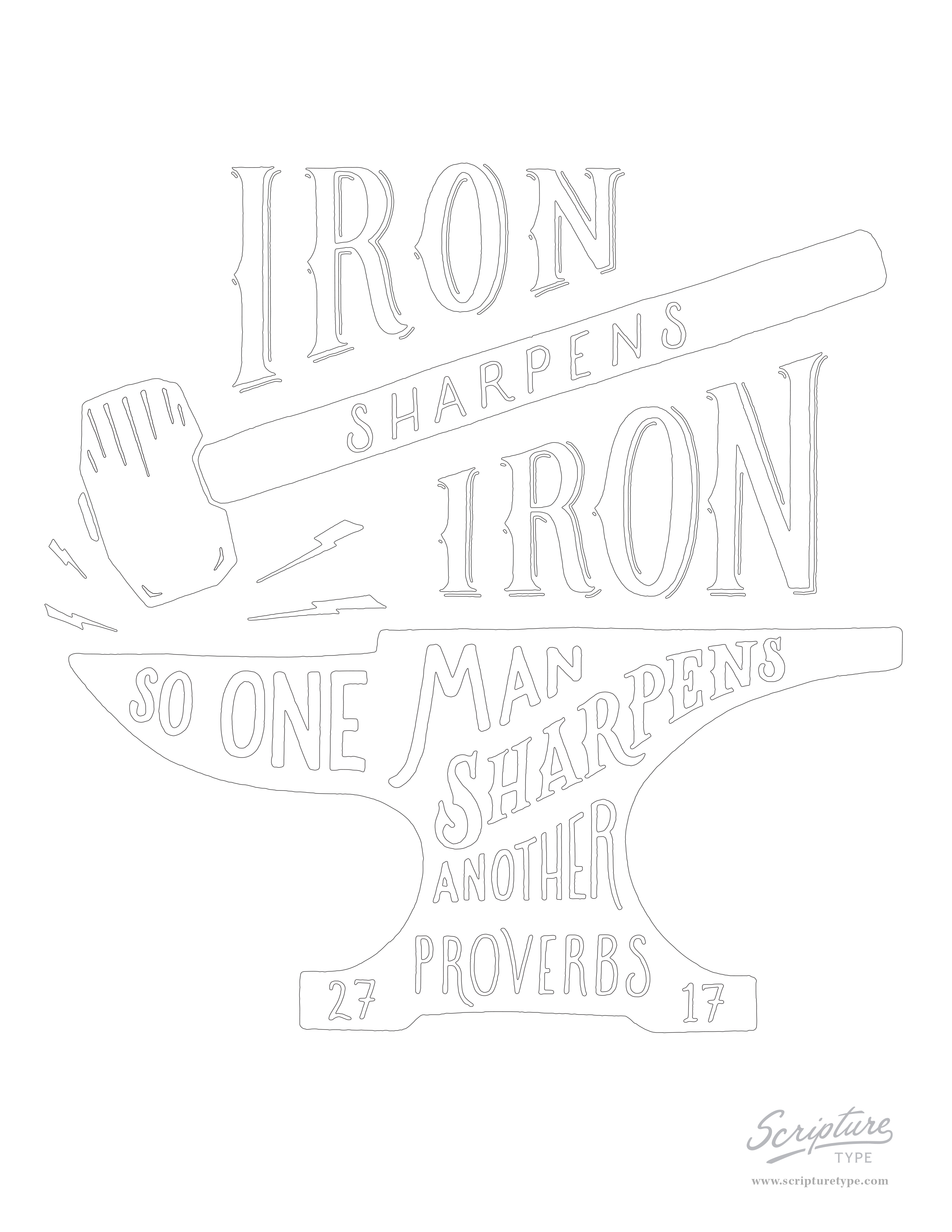 It's just a picture of Canny Proverbs 17 Coloring Pic