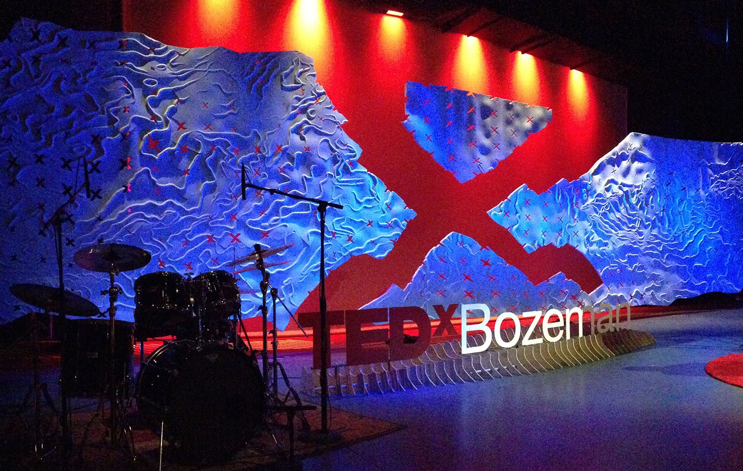 TedX Bozeman Stage Design Jacob Ideas