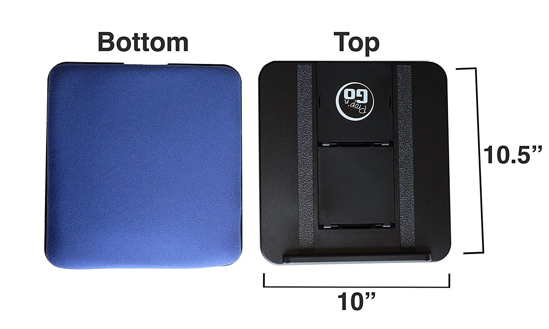 Polka Dots iPad Pillow with Adjustable Angle Control for iPad Air iPhone Tablets Prop n Go Slim iPad Mini eReaders iPad Pro and More