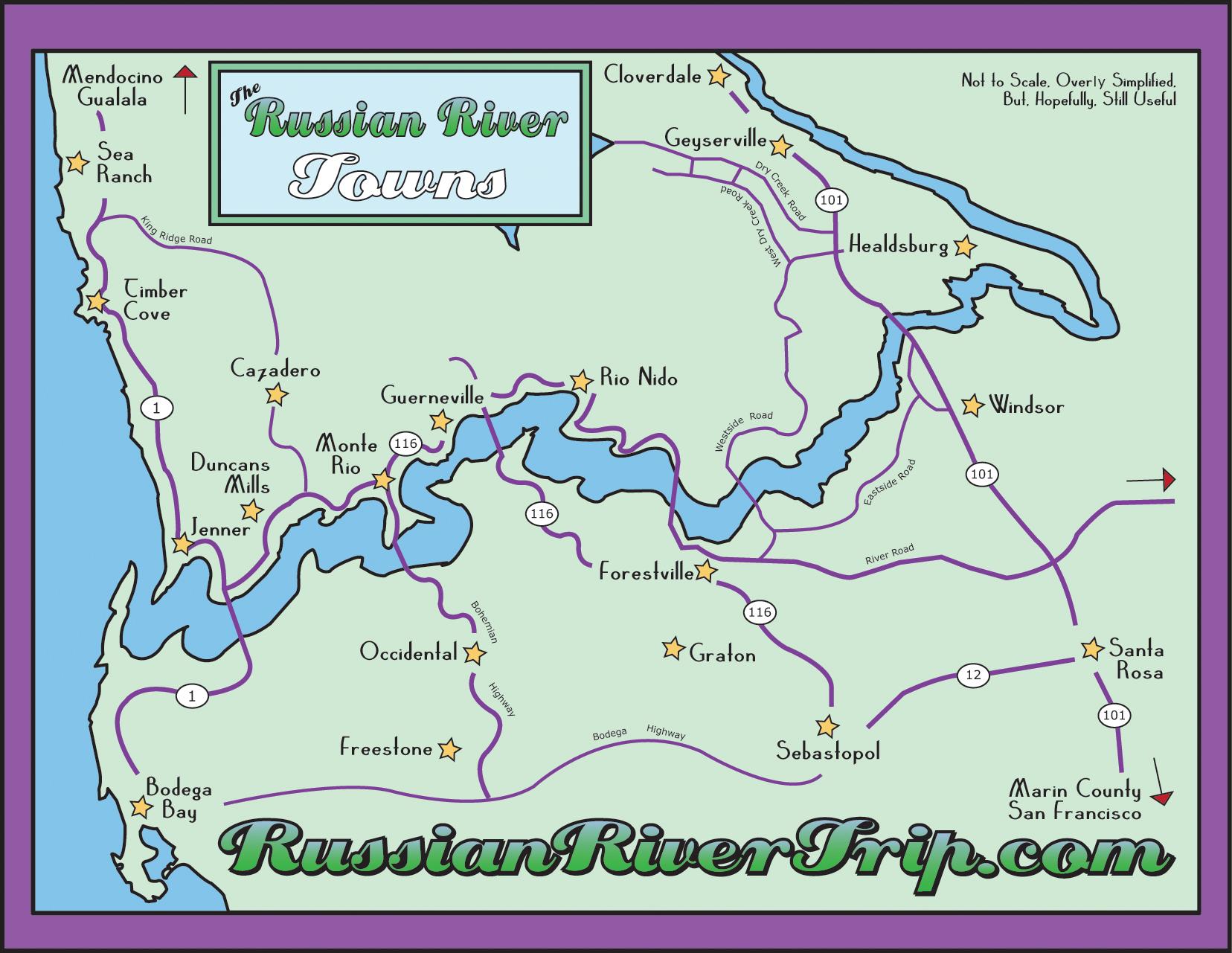 Maps Russianrivertrip Com