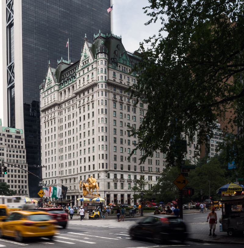 The Plaza Hotel, today