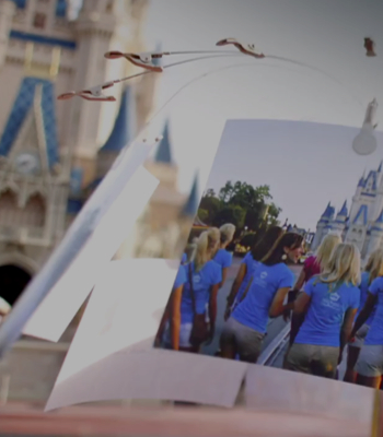 Video Miss America visits Disney