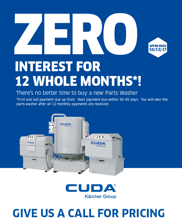 Why Cuda Tps Products Cuda Solvent Free Parts Washers