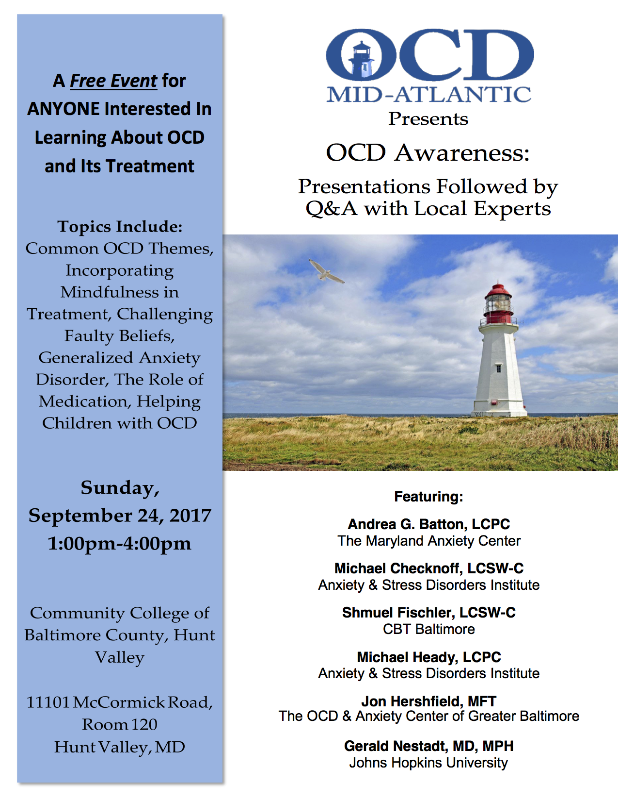 Our Events — OCD MidAtlantic