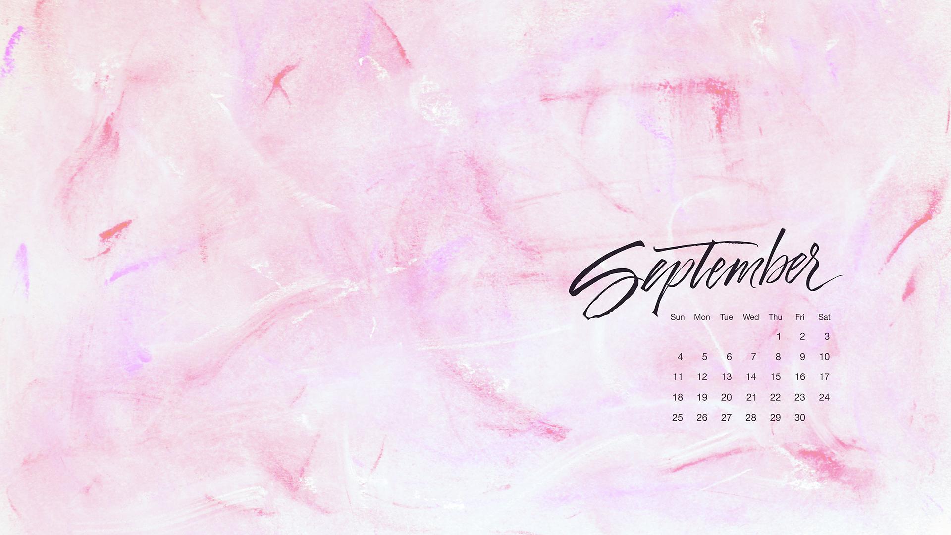 Calendar Desktop Wallpaper September : Free desktop calendar september — type and graphics lab
