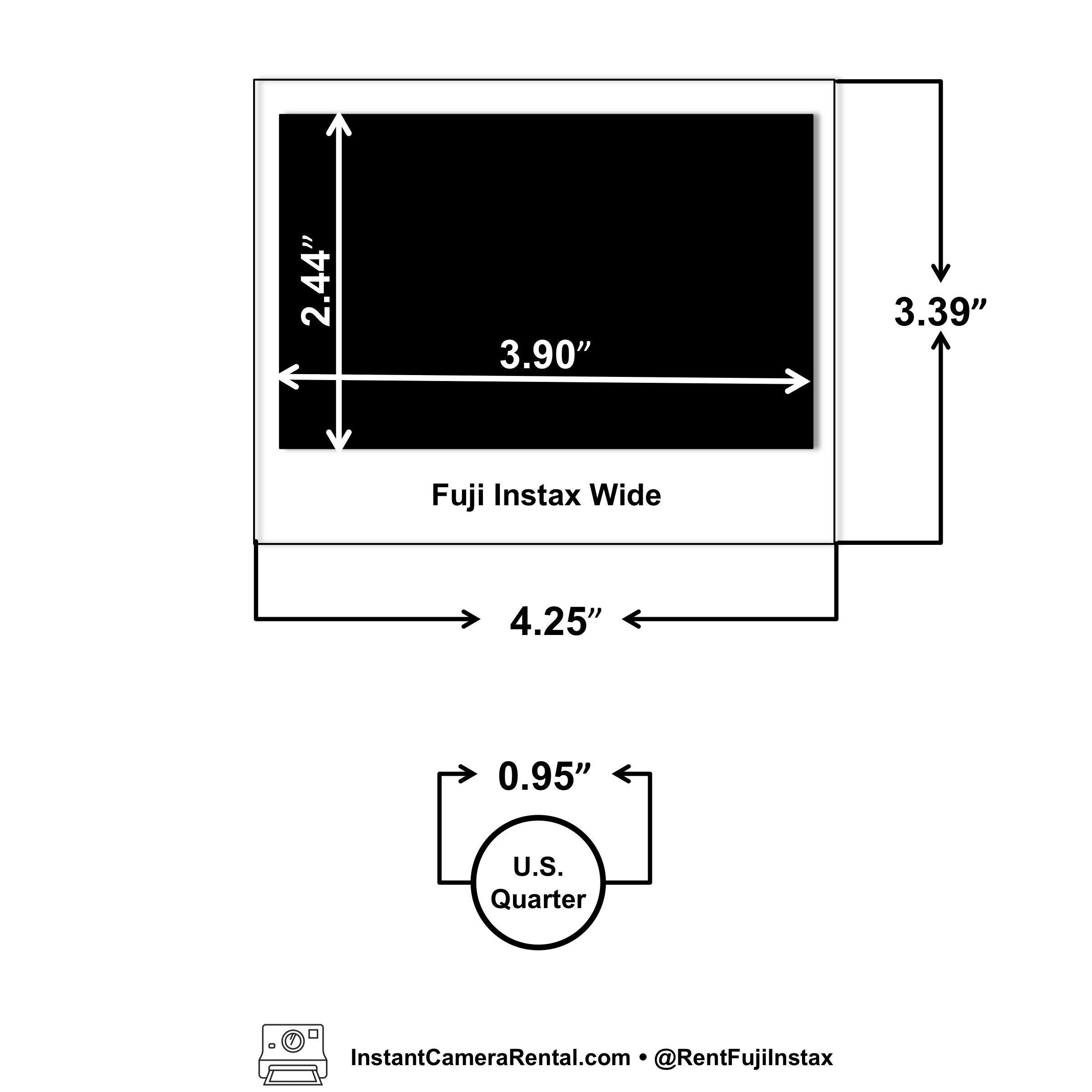rent polaroids and fuji instax cameras