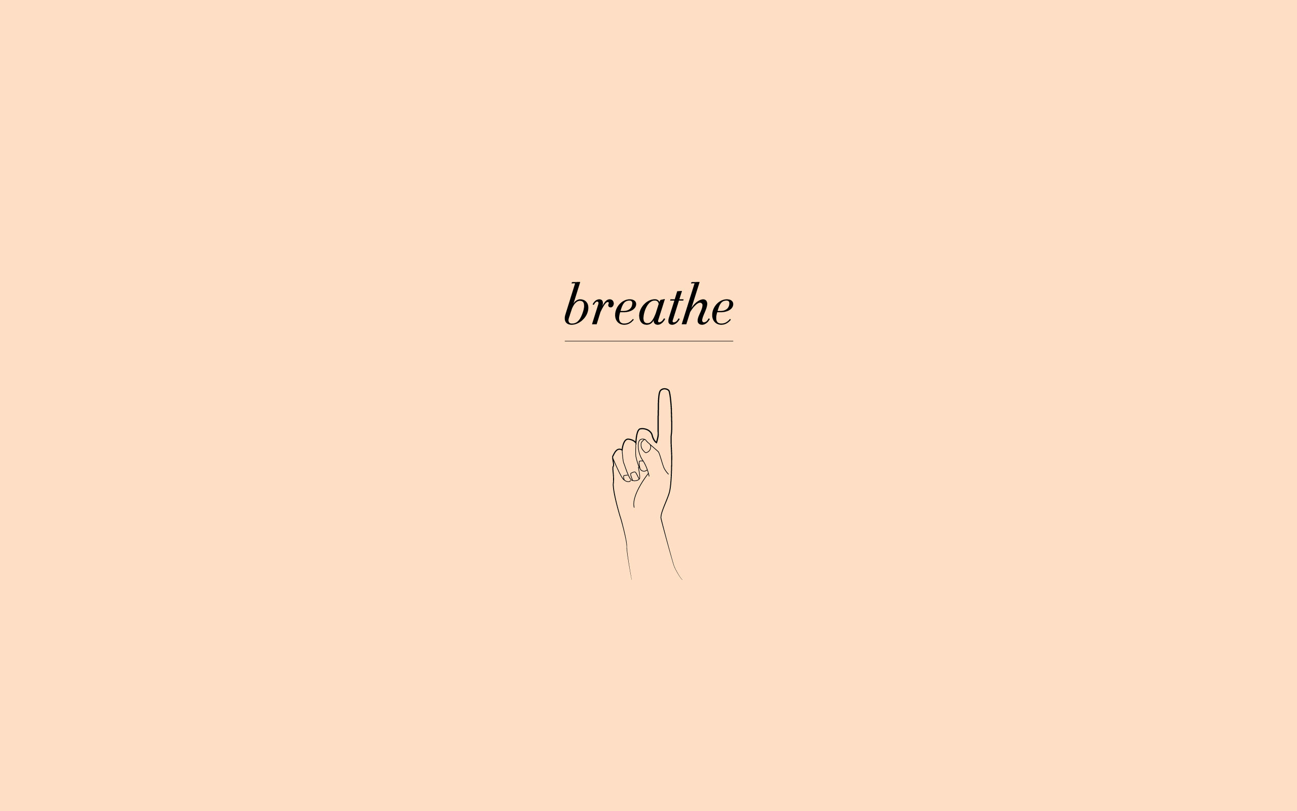 breathe a digital wallpaper download for august � of note