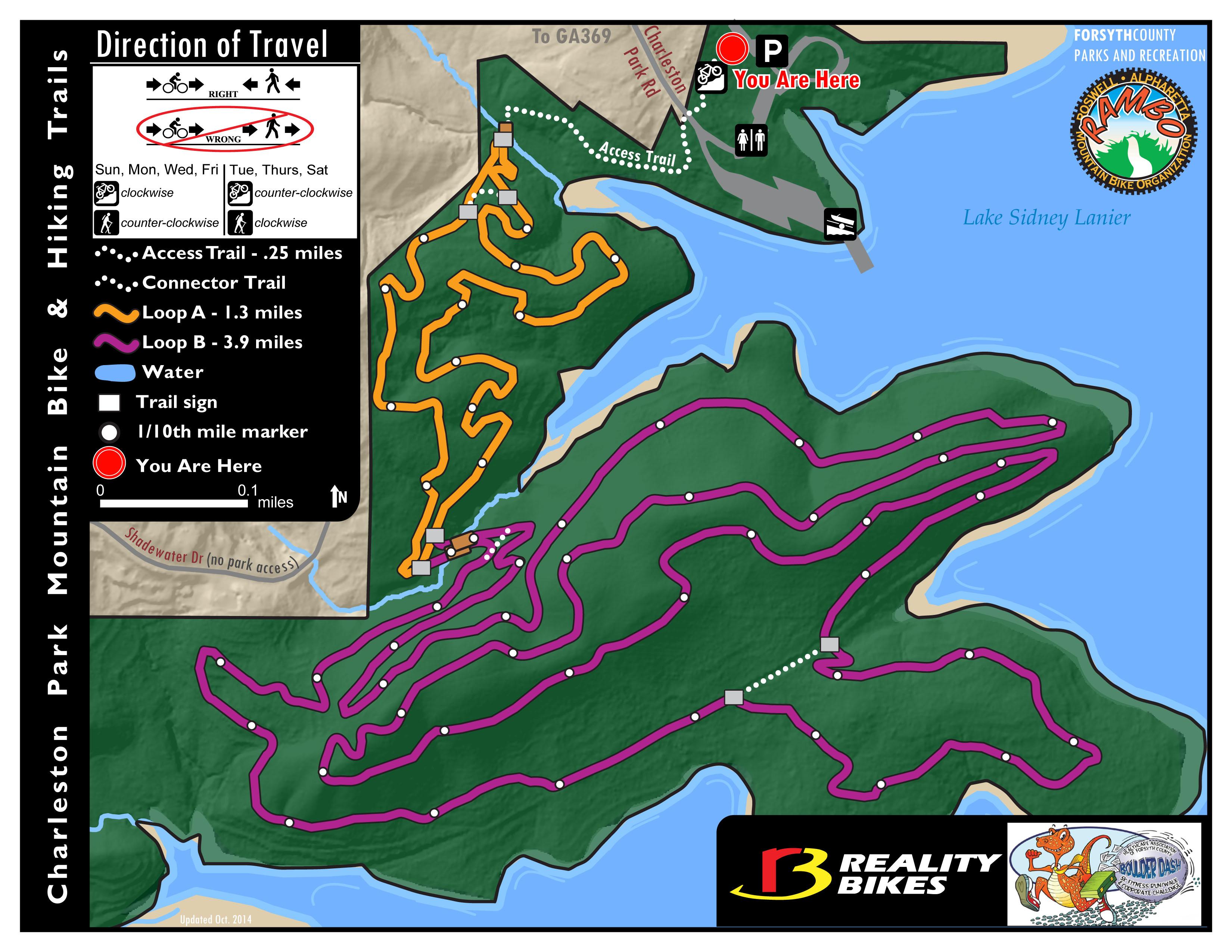 Forsyth Georgia Map.Charleston Park Mtb Trails Cumming Ga Roswell Alpharetta