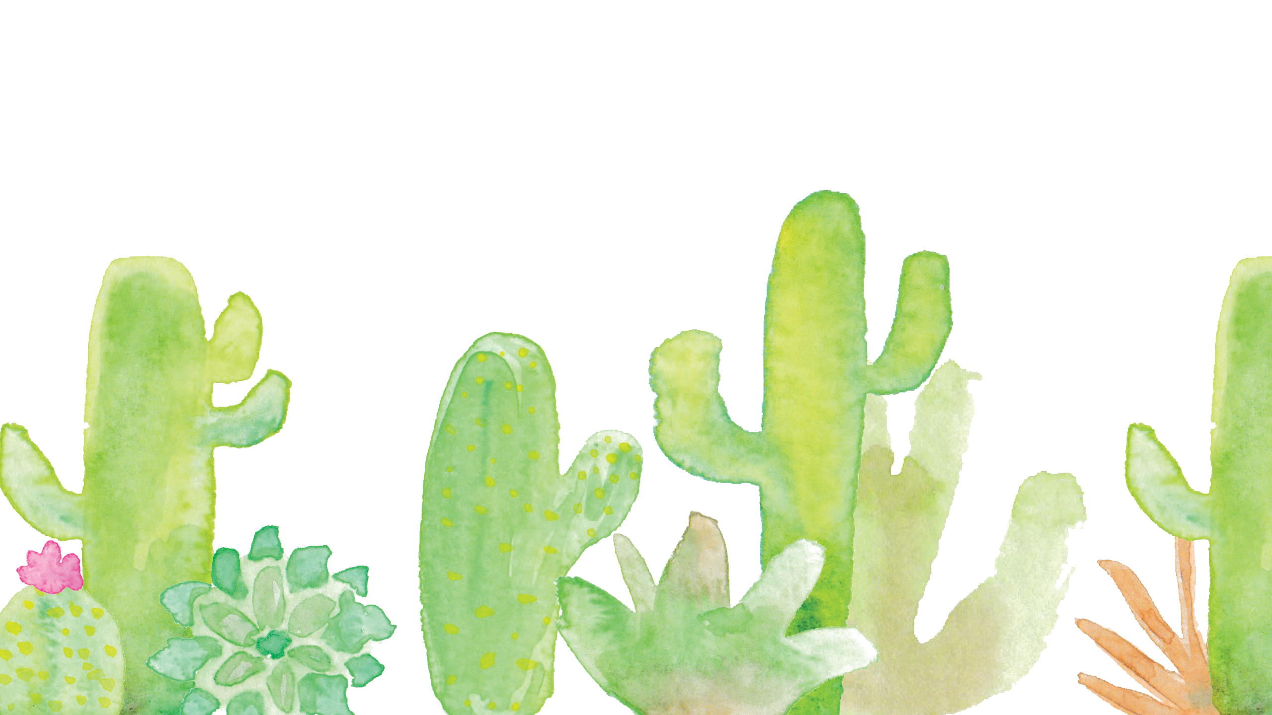 cutesy cacti computer backgrounds