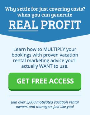 vacation rental marketing newsletter banner
