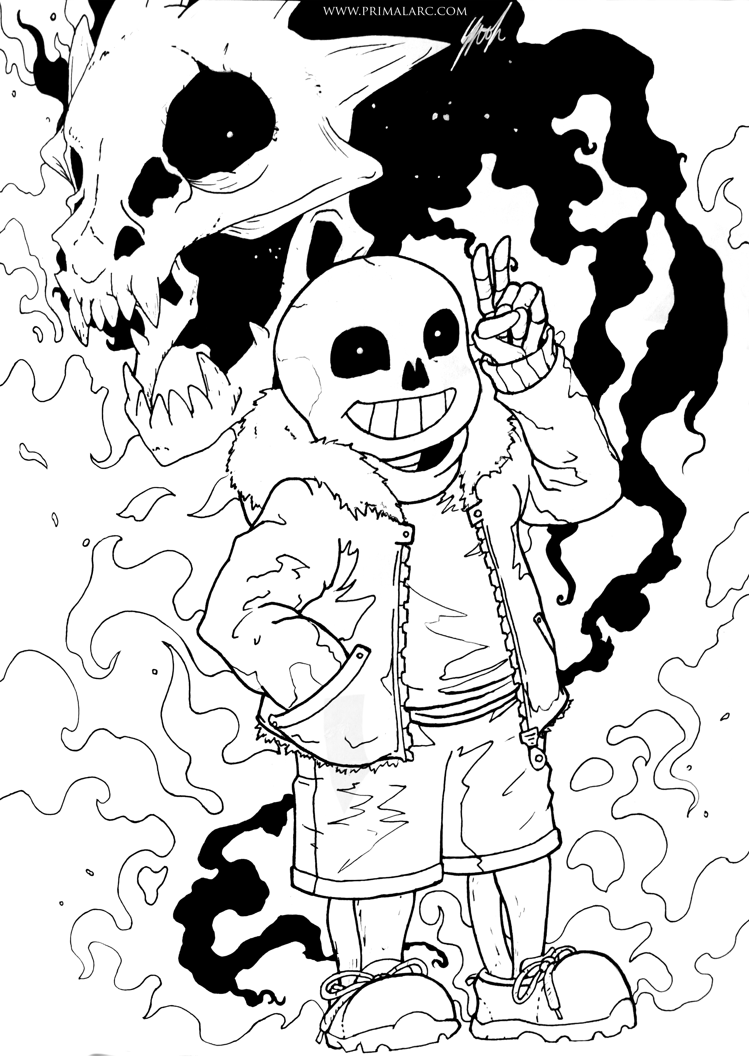 Coloring pages undertale - Download