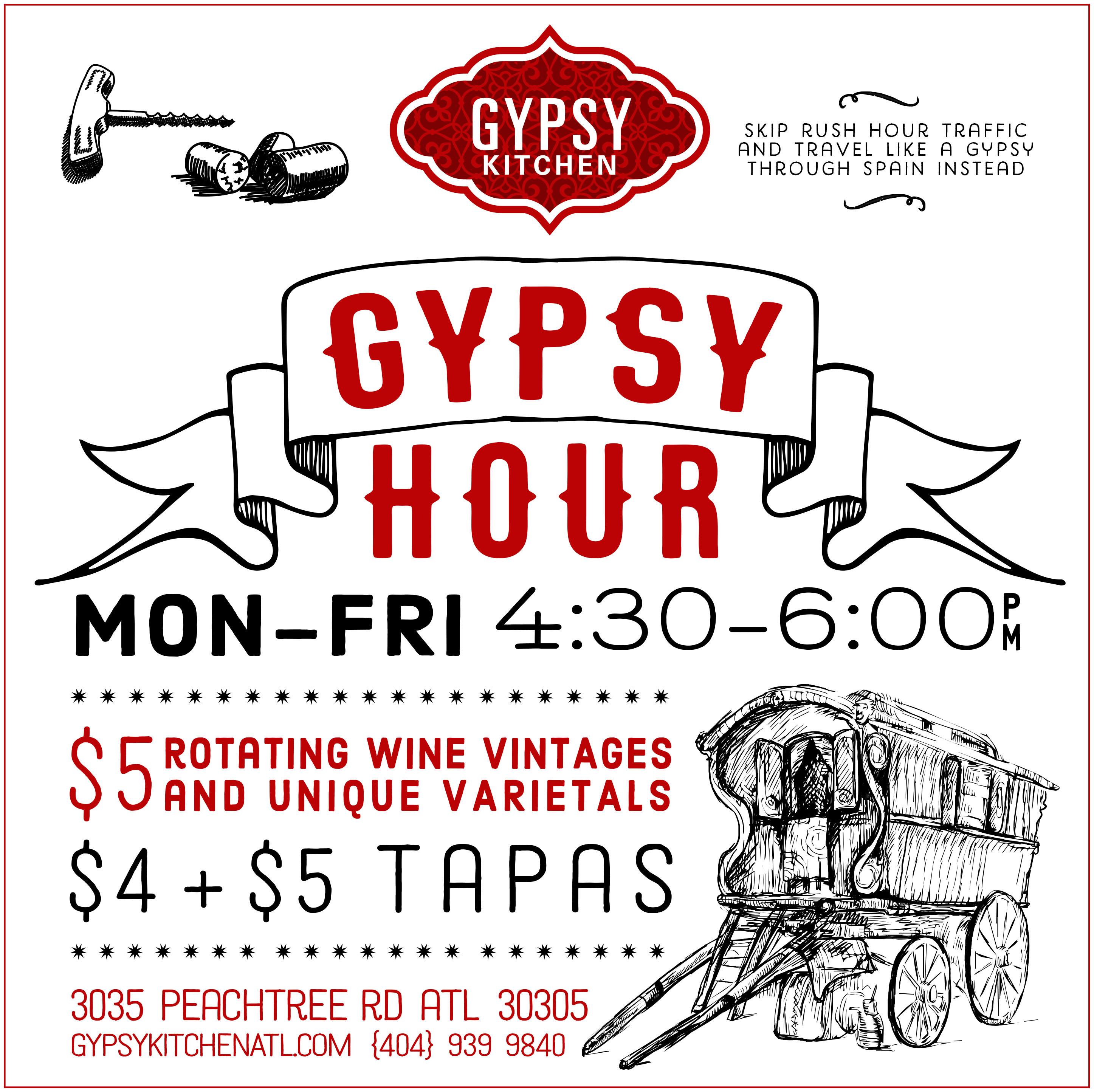 MENUS — Gypsy Kitchen