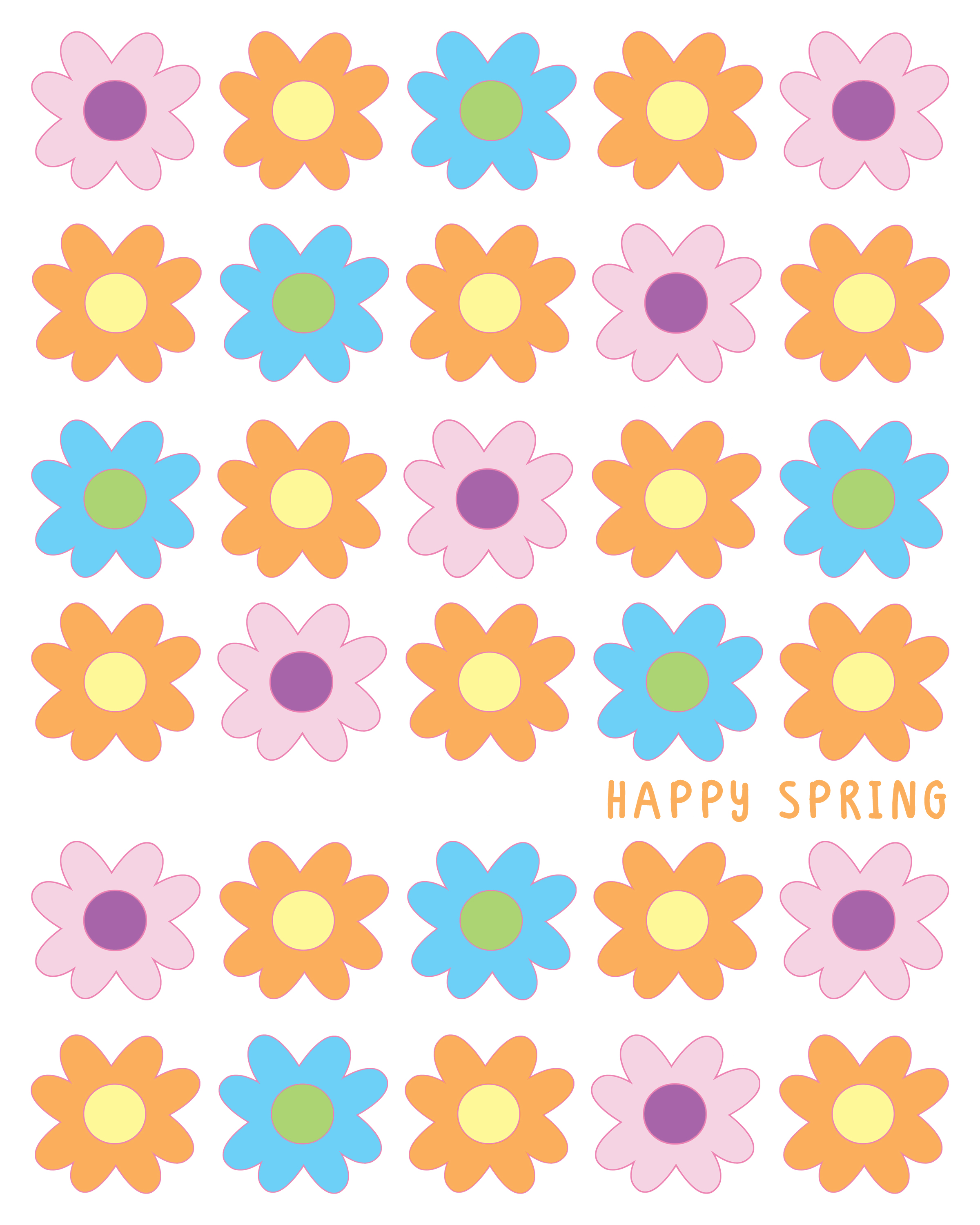 Want to find more spring flower illustrations for your designs - come ...