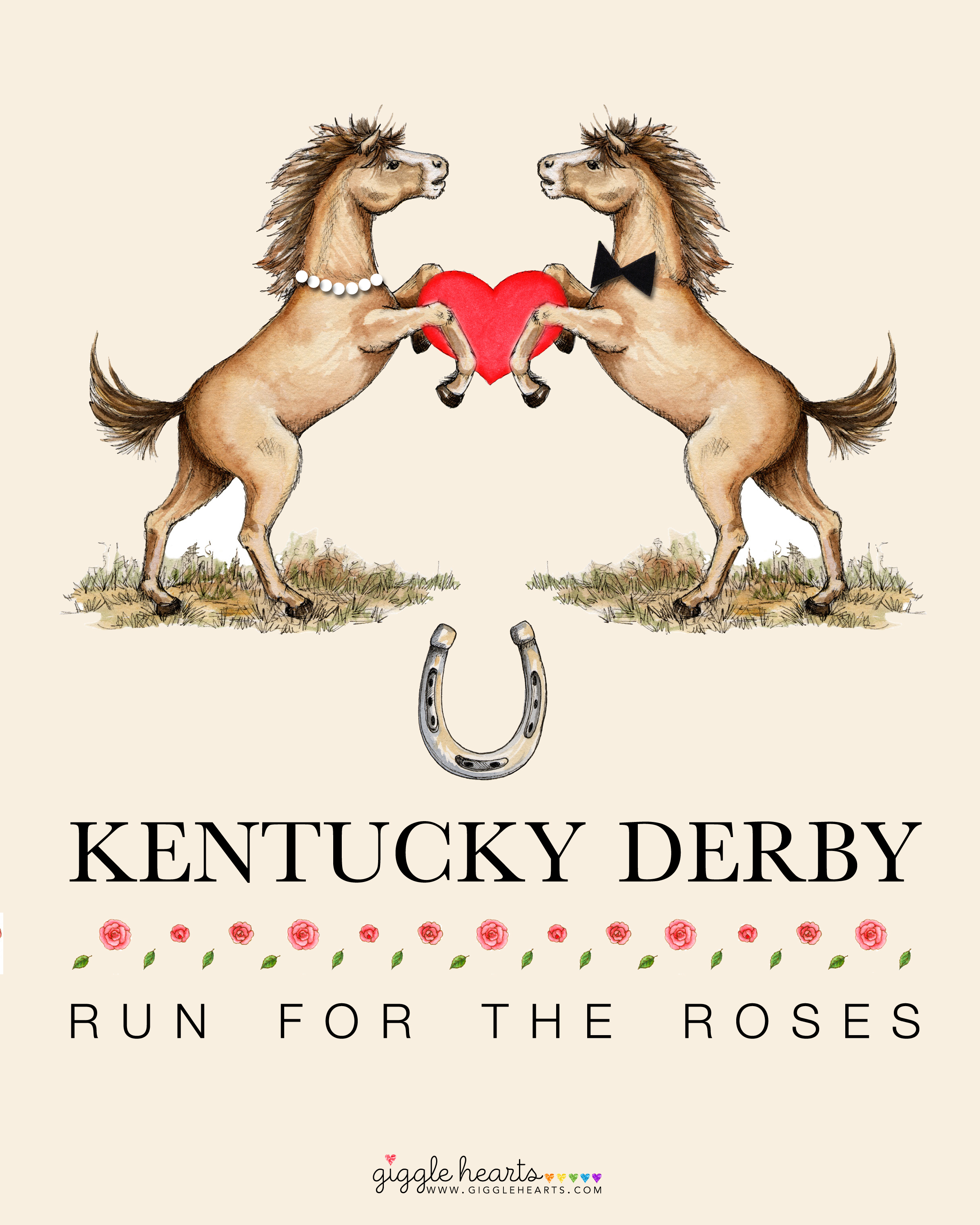 This is an image of Magic Kentucky Derby Printable Lineup