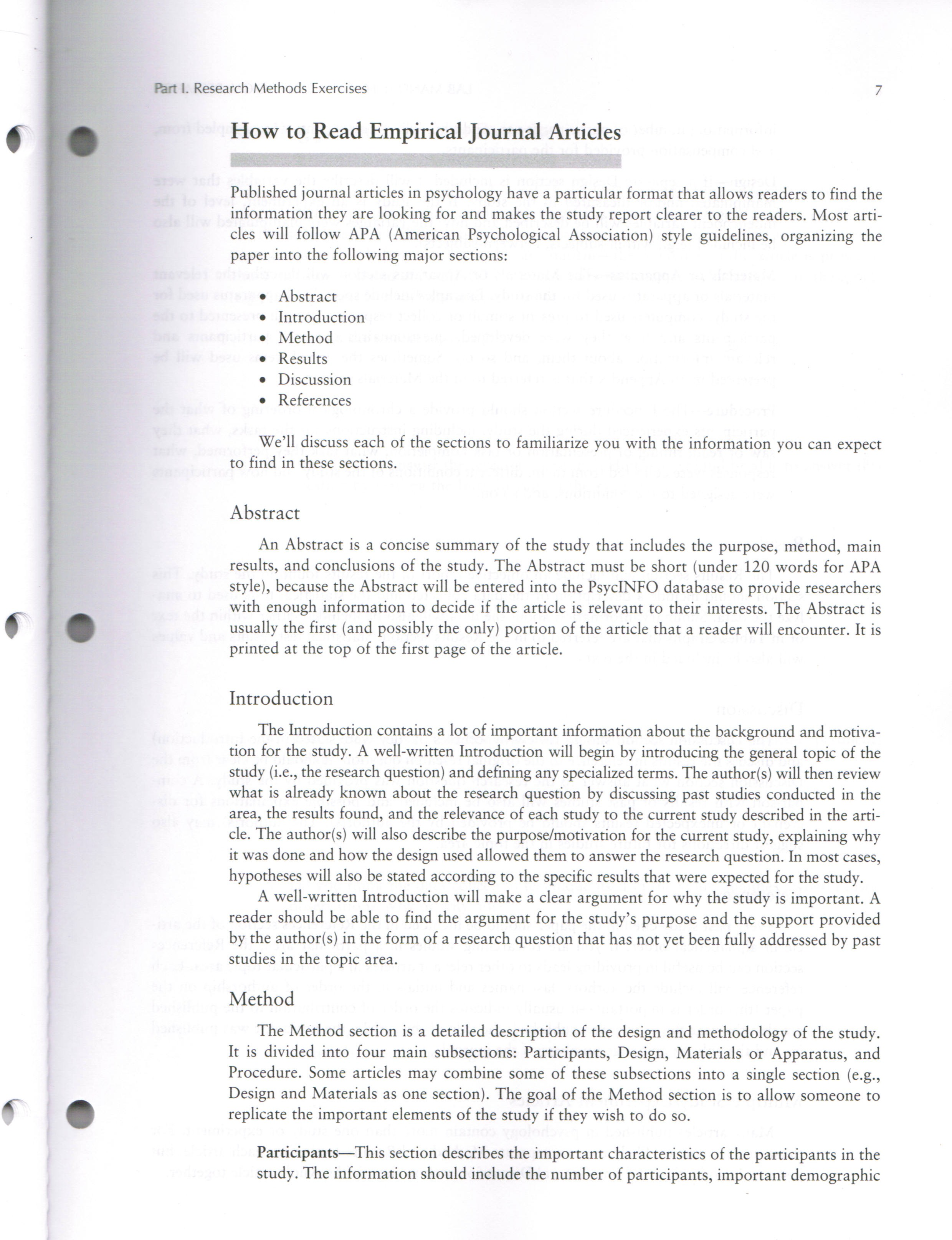 experimental psychology craig eben page 1