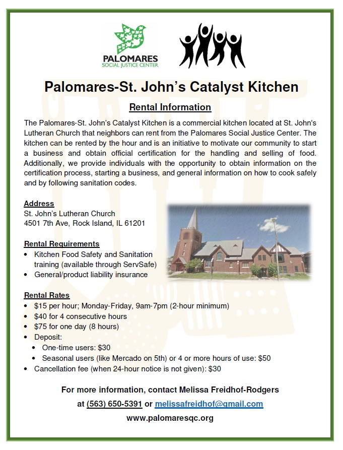 Catalyst Kitchen Palomares Social Justice Center