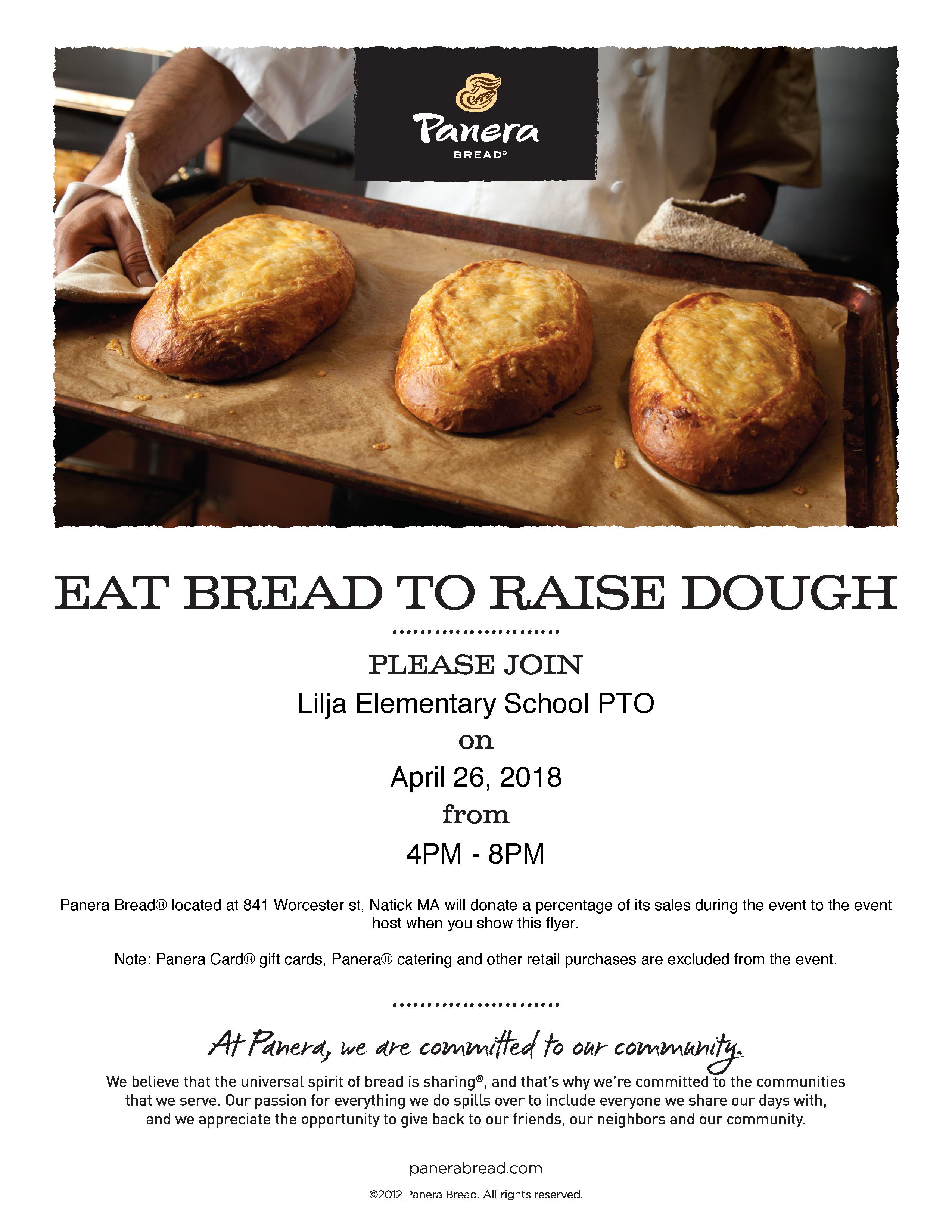 Panera Bread Fundraiser, Yearbooks On Sale, and Teacher Appreciation ...