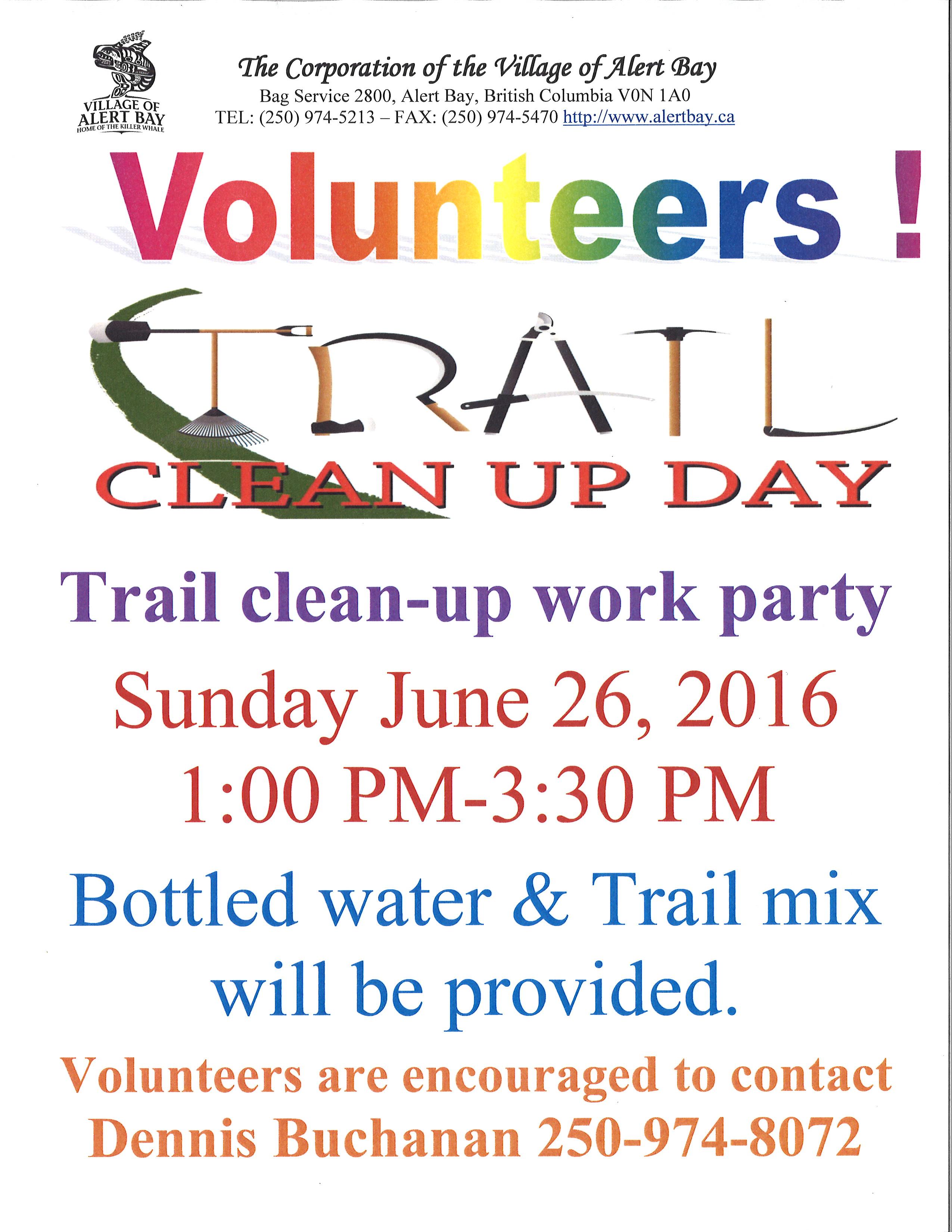 982d2952baa61e Volunteers Needed Trail Clean Up Crew June 26