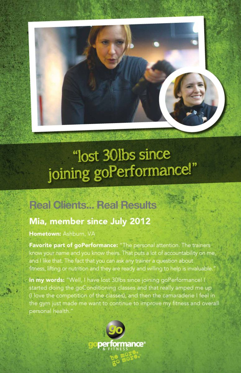 GoPerformance Nashville Client Mia