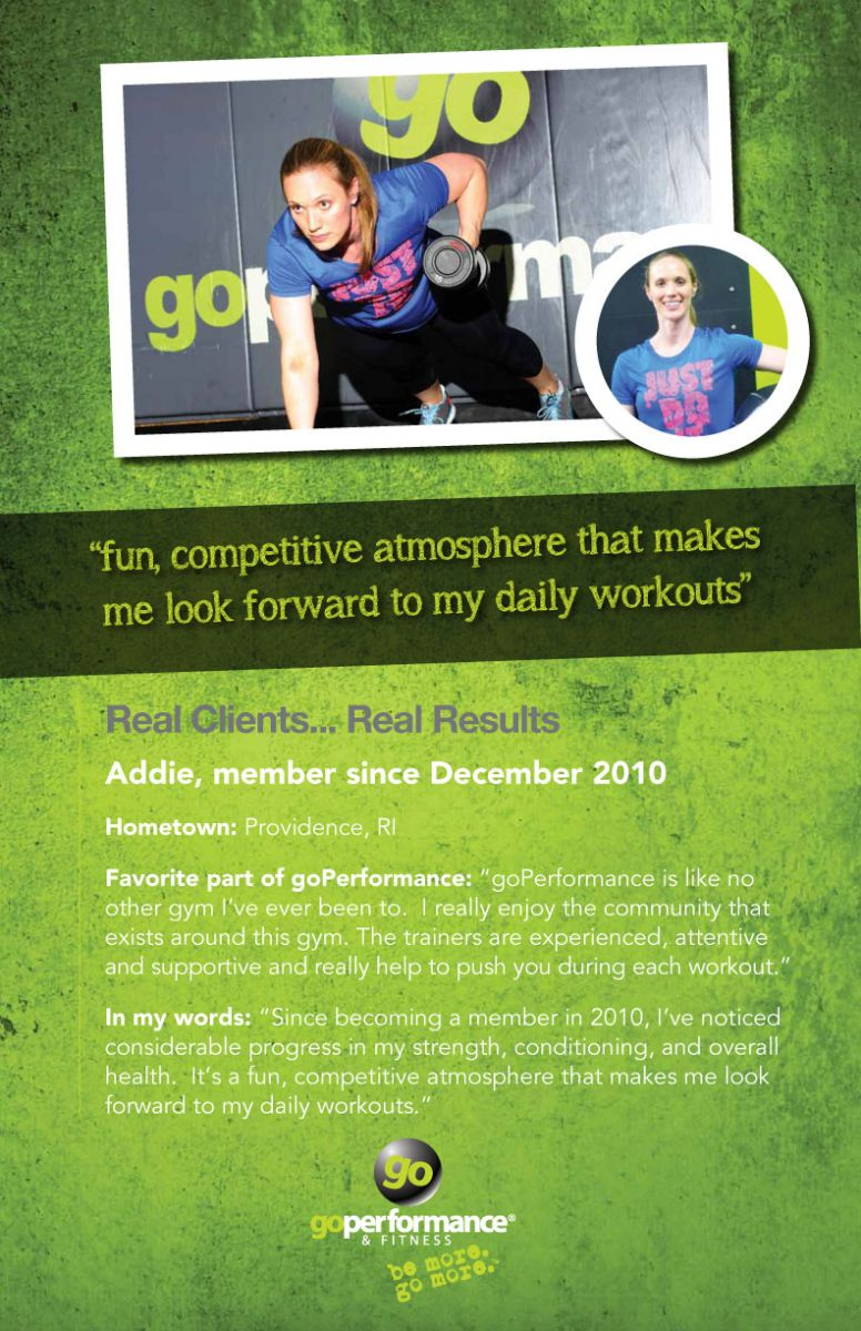 GoPerformance Nashville Client Addie