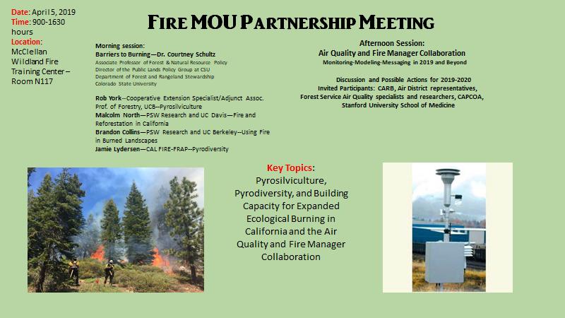 Events & Webinars — California Fire Science Consortium