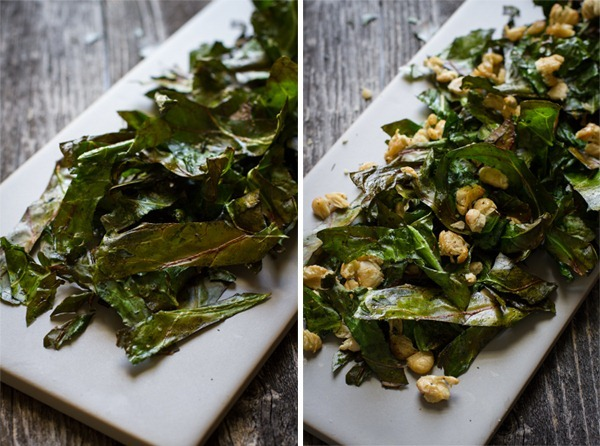 collard greens + butter beans {2 ways} // edible perspective