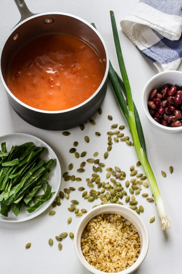 Quick Dinner: Loaded Soup | edibleperspective.com