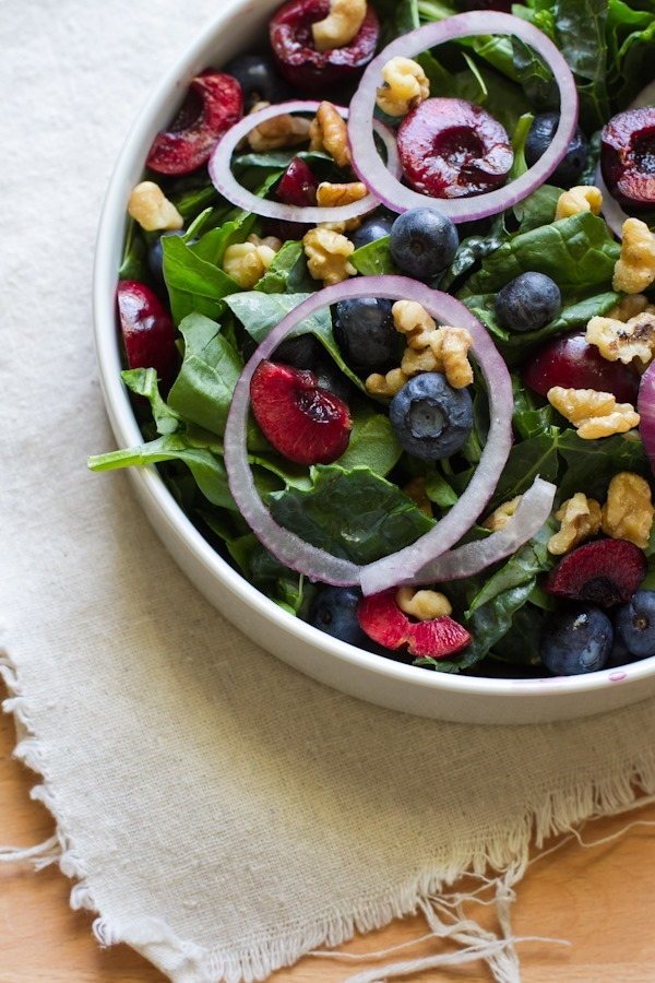 fruit + nut jam salad >> edible perspective