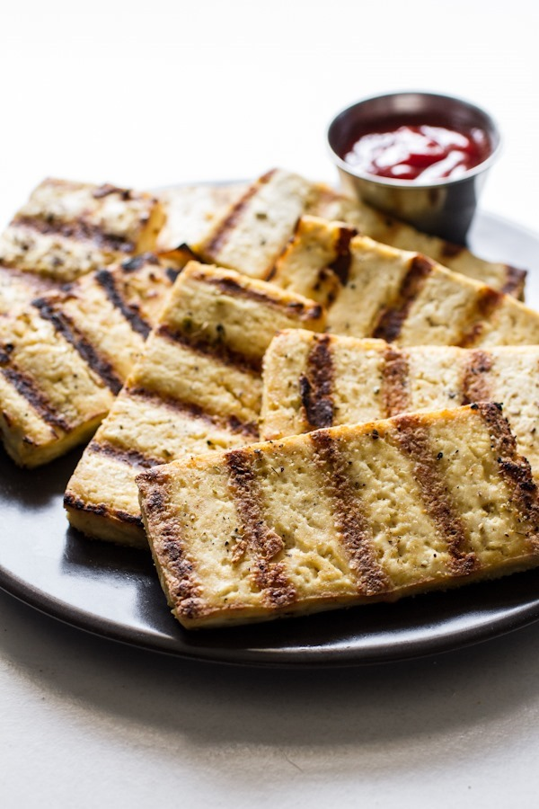 How To: Grilled Tofu | edibleperspective.com #glutenfree #vegan