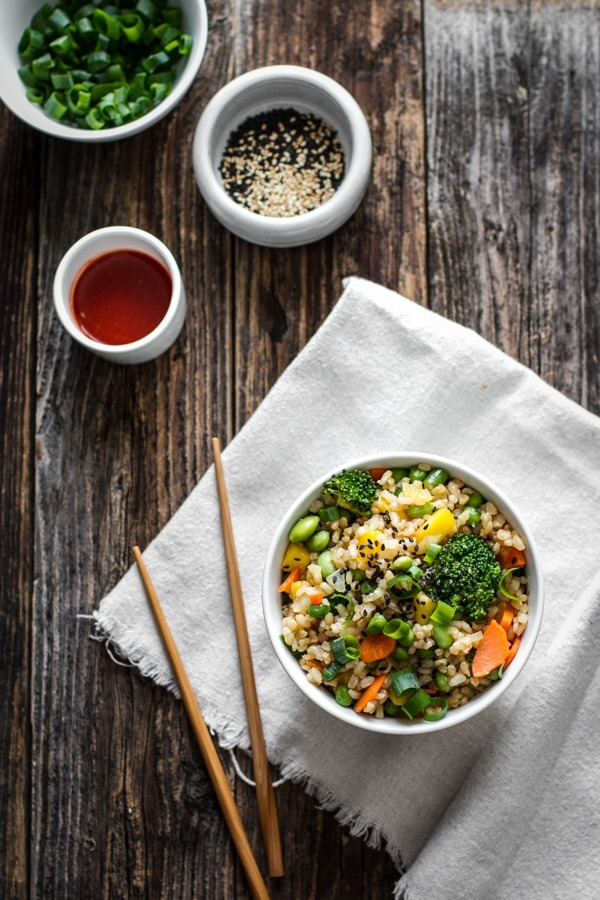 Vegetable Fried Rice | edibleperspective.com