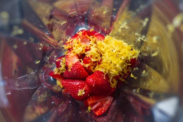 Strawberry Lemon Chia Curd | edibleperspective.com #glutenfree #vegan