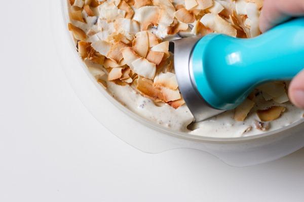 coconut stuffed ice cream >> edible perspective