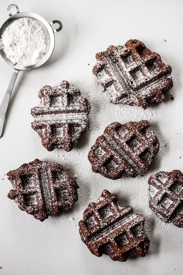 Belgian Brownie Waffles | edible perspective