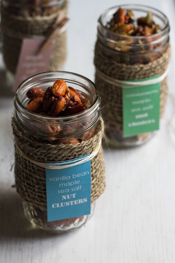 nut clusters in a jar, 3-ways || edible perspective