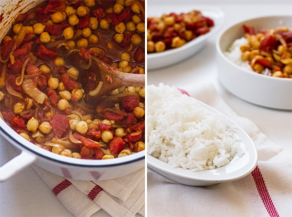 Quick & Easy Chana Masala from Oh She Glows Cookbook by, Angela Liddon // edibleperspective.com #ohsheglows