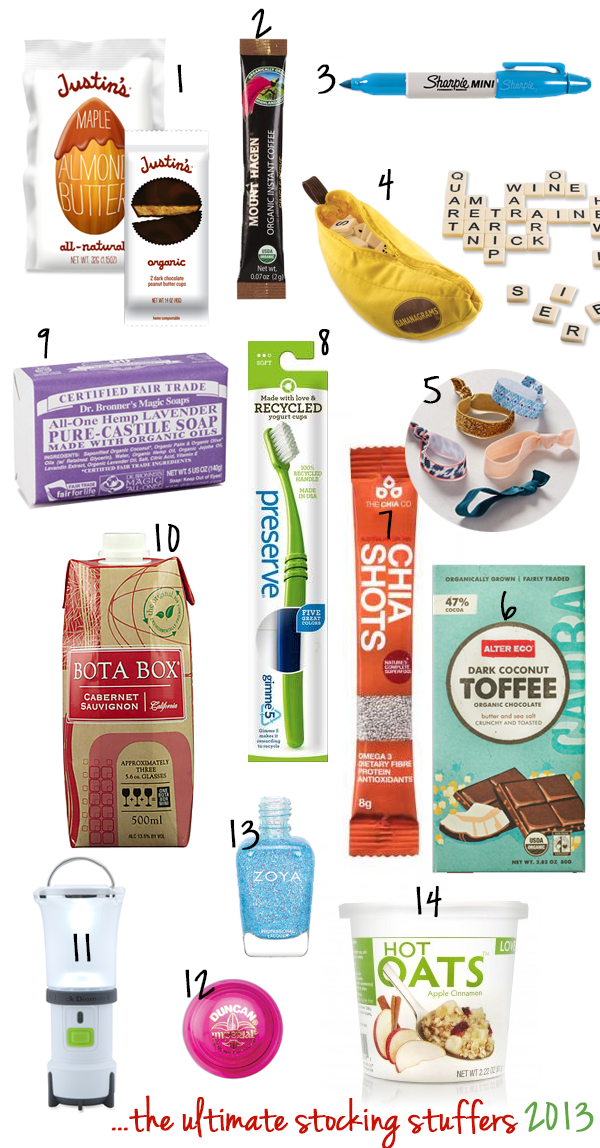 The Ultimate Stocking Stuffers 2013 | edibleperspective.com