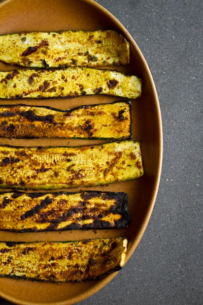 Curry Grilled Zucchini Rollups | Edible Perspective