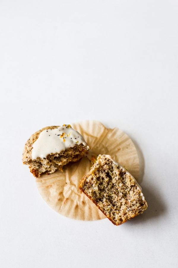 Citrus Poppy Seed Muffins | edibleperspective.com