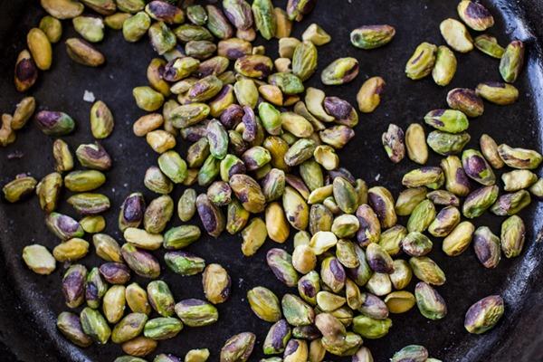 Kale + Brussels Sprout Fruit and Nut Salad | edibleperspective.com