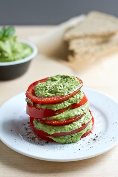 Creamy Avocado Basil Pesto | Edible Perspective