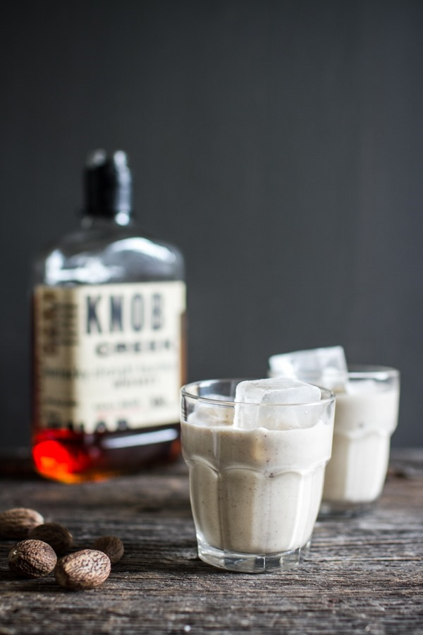 Homemade Vegan Eggnog | edibleperspective.com