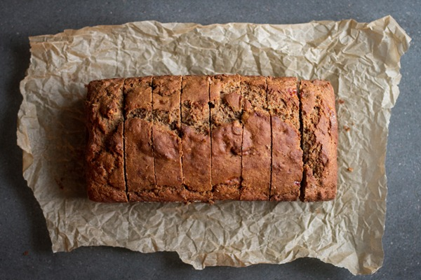 gluten free banana nut bread | edible perspective