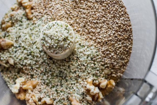 Vegan Parmesan Cheeze   edibleperspective.com #vegan #glutenfree