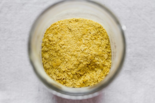 Vegan Parmesan Cheeze | edibleperspective.com #vegan #glutenfree